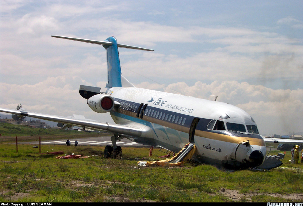 Fokker F28 Fellowship | Bureau of Aircraft Accidents Archives